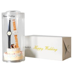 "Swatch Special ""Happy Wedding"" model GZS05, 2001"