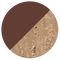 Deep Brown / Travertino Imperiale Base