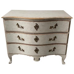 Swedish 18th Century Rococo Commode