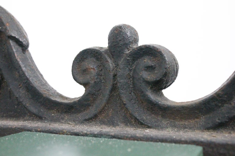Swedish 1920s Cast Iron Park Bench Designed by Folke Bensow For Sale 13