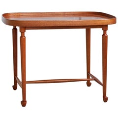 Swedish 1950s Mahogany Side Table Designed by Josef Frank for Svenskt Tenn