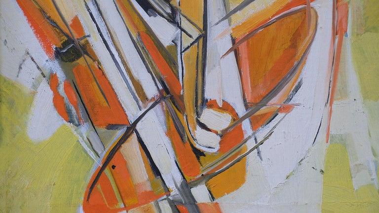 Scandinavian Modern Swedish 1960s Painting For Sale