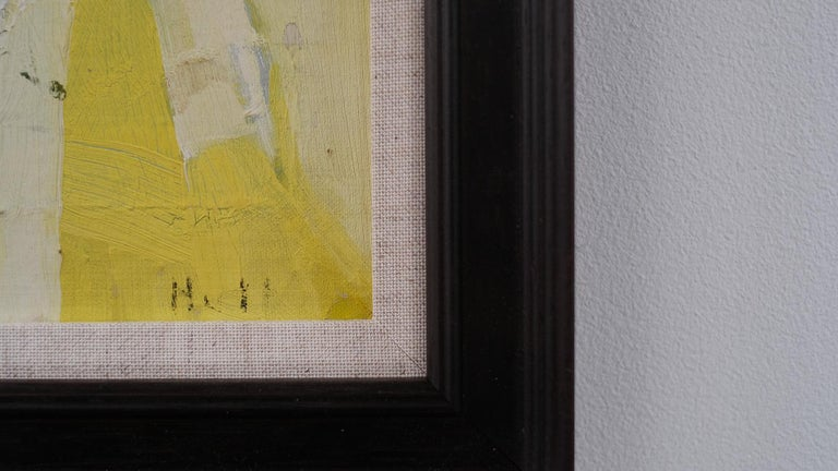 Swedish 1960s Painting In Good Condition For Sale In Epperstone, Nottinghamshire