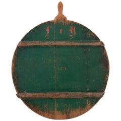 Swedish 19th Century Green Peel Board