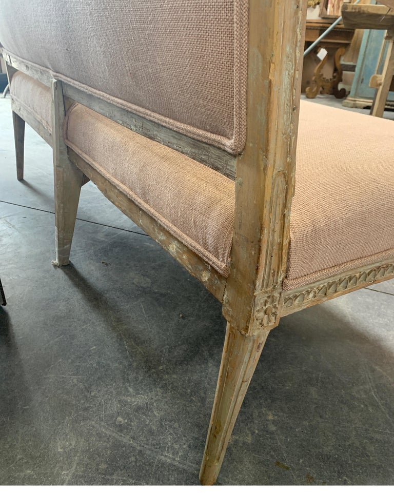 Swedish 19th Century Gustavian Sofa 7