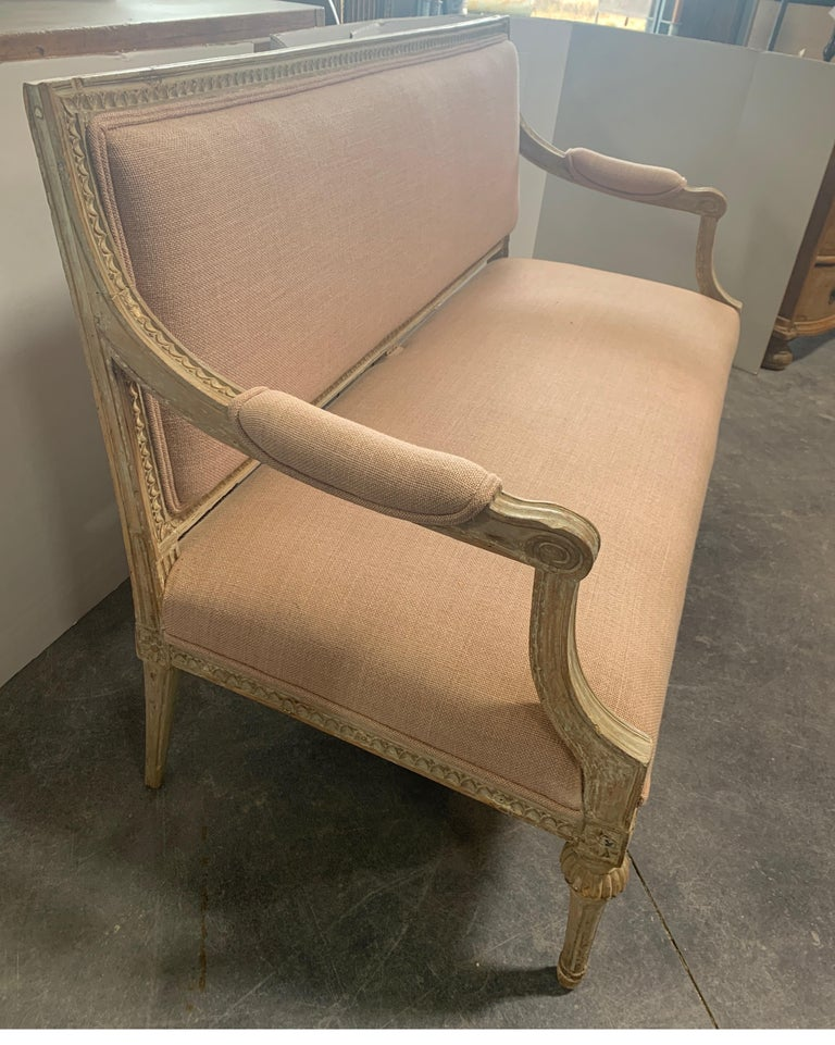 Swedish 19th Century Gustavian Sofa 10