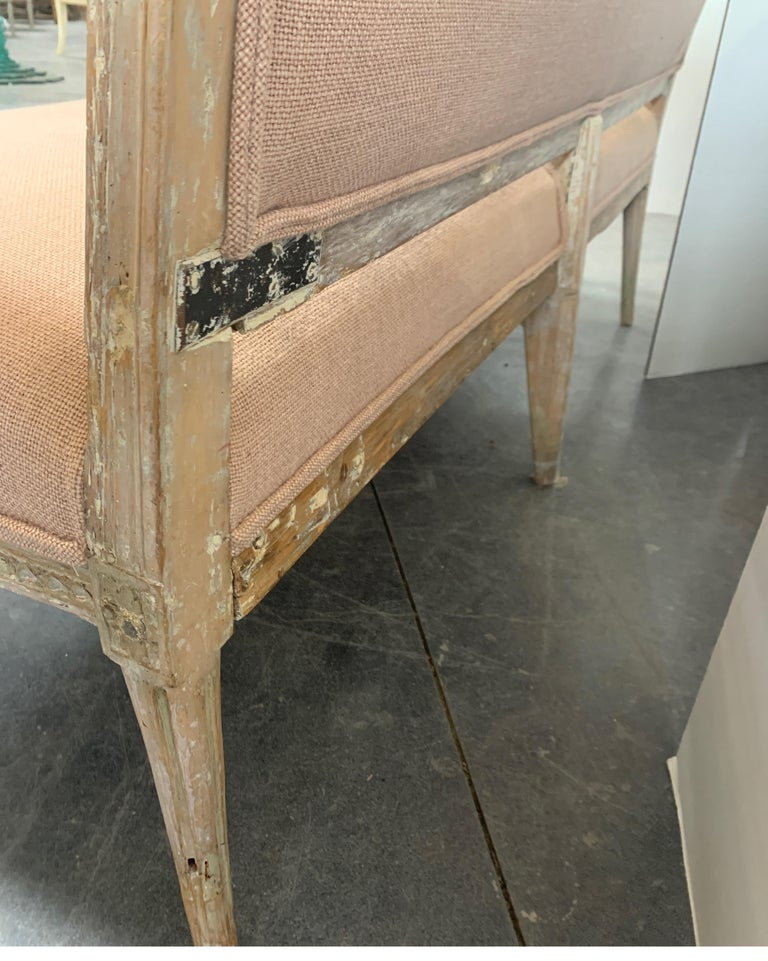Swedish 19th Century Gustavian Sofa 4
