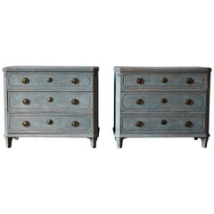 Swedish 19th Century Gustavian Style Chest of Drawers