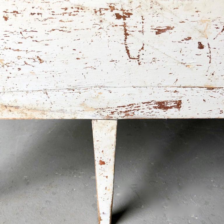 Swedish 19th Century Gustavian Style Long Sofa Settee For Sale 2