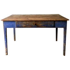 Swedish 19th Century Painted Table or Desk