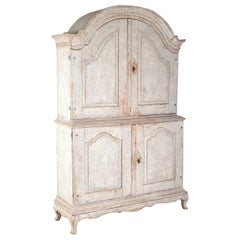 Swedish 19th Century Rococo Cabinet