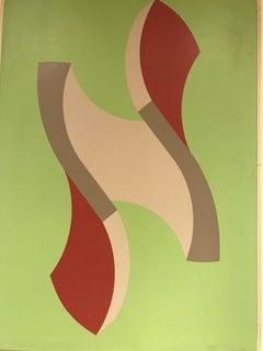 Swedish Abstract Sven Frodin 1973