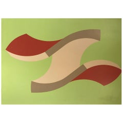 Swedish Abstract Sven Frodin 1973