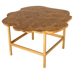 Swedish Alder Root and Birch Coffee Model #1057 Table by Josef Frank
