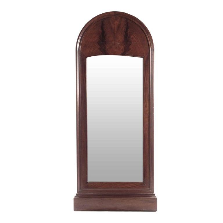 Swedish Antique Mahogany Mirror from 1880s