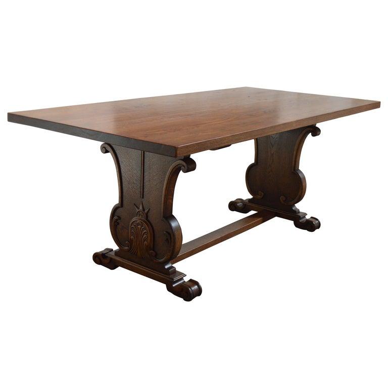 "Swedish Art Deco ""Bibliotek""  Dining or Writing Table For Sale"