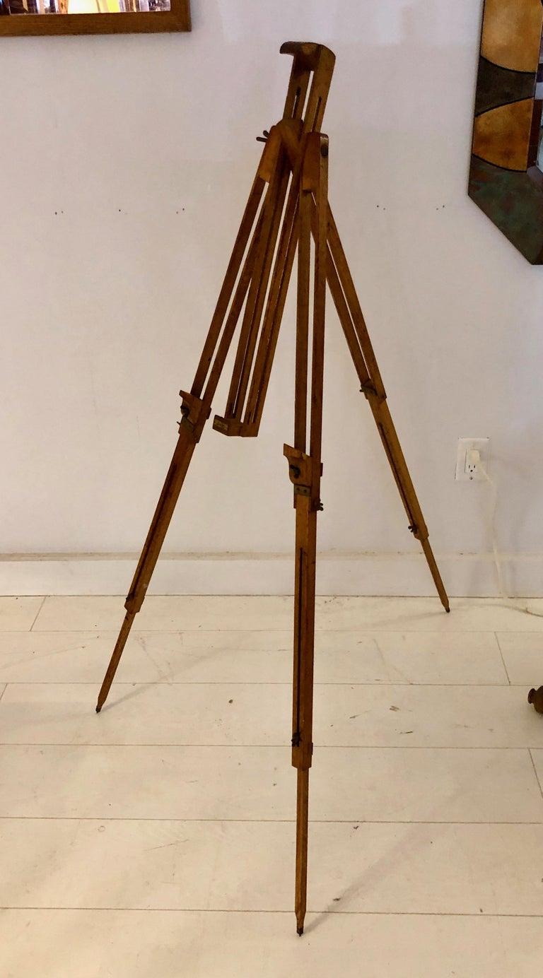 Swedish Art Deco Easel In Good Condition For Sale In Hudson, NY