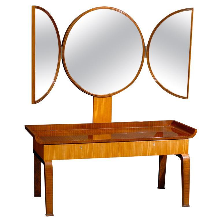 Swedish dressing table, 1930s, offered by Bjork Studio