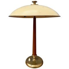 Swedish Art Deco Table Lamp by Böhlmark, Stockholm, circa 1940