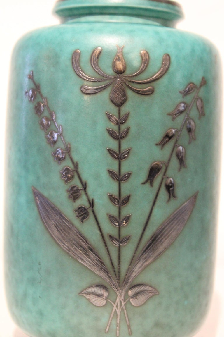 Swedish Art Deco Vase by Argenta In Good Condition For Sale In New York City, NY