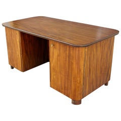 Swedish Art Moderne Desk in Walnut by circa 1940