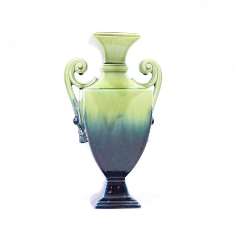 Scandinavian Modern Swedish Art Nouveau Creamware Vase from Rörstrand, 1910s For Sale