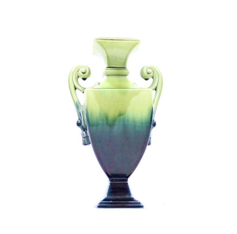 20th Century Swedish Art Nouveau Creamware Vase from Rörstrand, 1910s For Sale