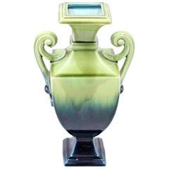 Swedish Art Nouveau Creamware Vase from Rörstrand, 1910s