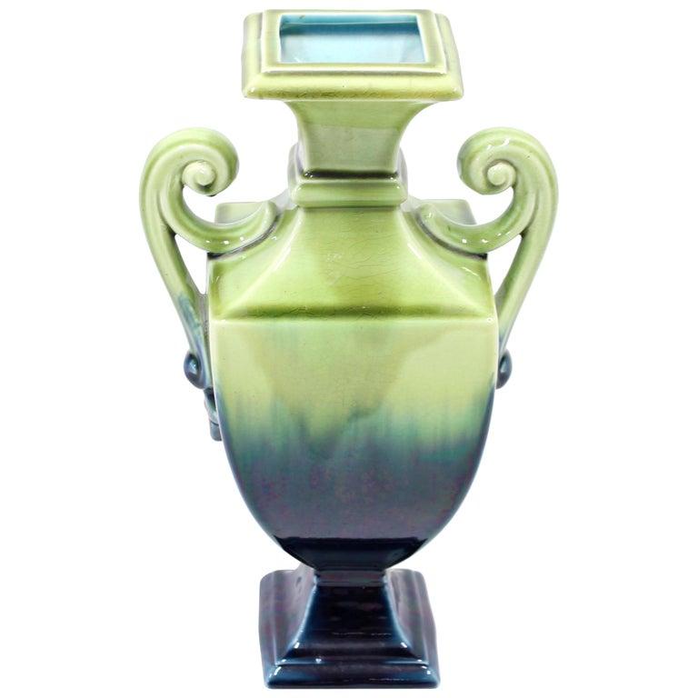 Swedish Art Nouveau Creamware Vase from Rörstrand, 1910s For Sale