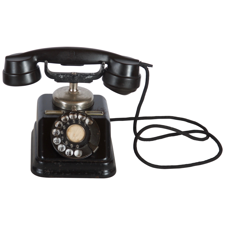 Swedish Bakelite Table Phone