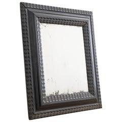 Swedish Baroque Mirror with Mercury Glass