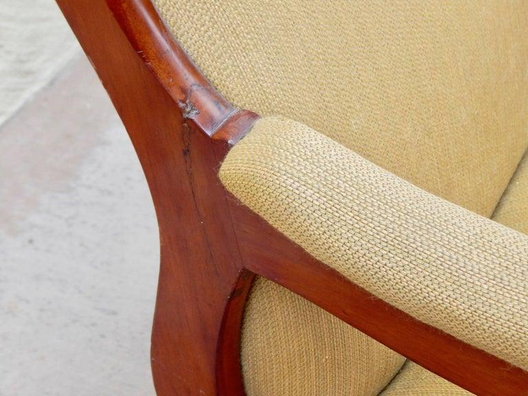 Swedish Biedermeier Rocking Chair, circa 1850 For Sale 6