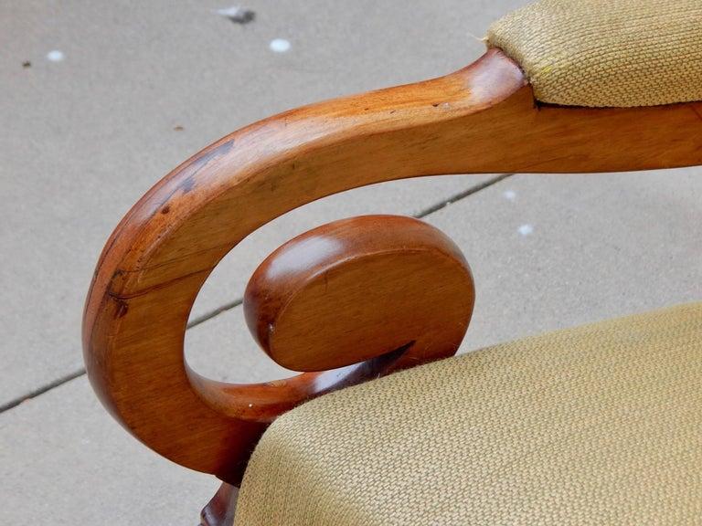 Swedish Biedermeier Rocking Chair, circa 1850 For Sale 7