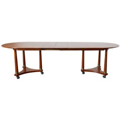 Swedish Biedermeier Style Library or Dining Table