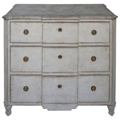 Swedish Block Front Commode