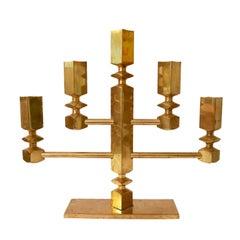 Swedish Candelabra Brass