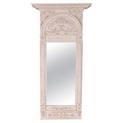Swedish Carved Mirror