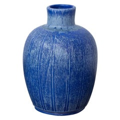 Swedish Ceramic Vase by Bo Fajans, 1940s