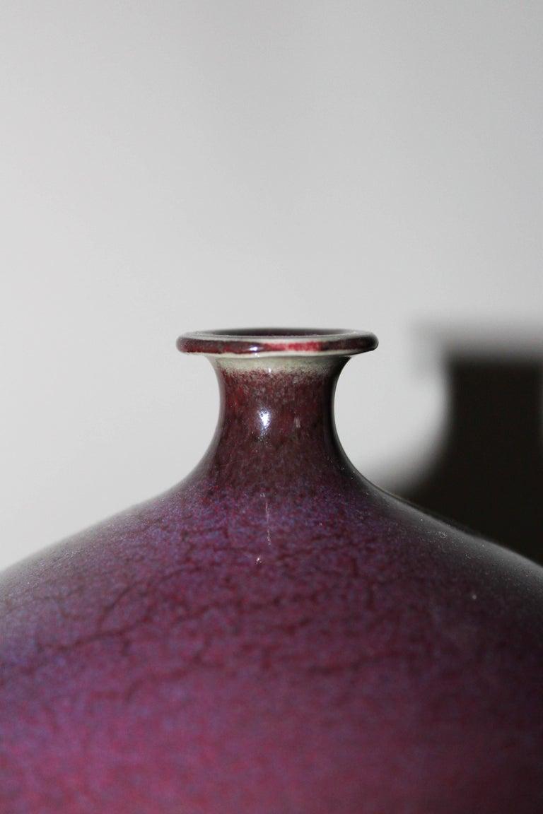 Swedish Ceramic Vase by Sven Hofverberg For Sale 1