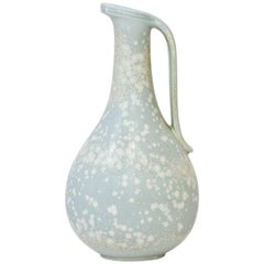 Swedish Ceramic Vase in Stoneware by Gunnar Nylund for Rörstrand, 1940s