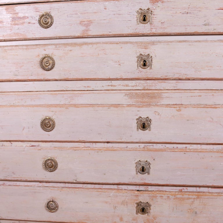 Swedish Chest of Drawers In Good Condition For Sale In Leamington Spa, Warwickshire