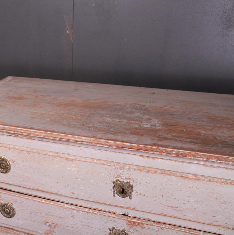 Swedish Chest of Drawers For Sale 1
