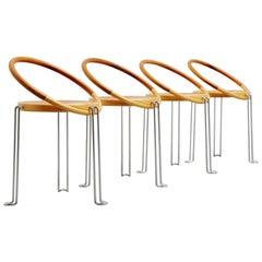 Swedish Circle Dinner Chairs, Sweden, 1970