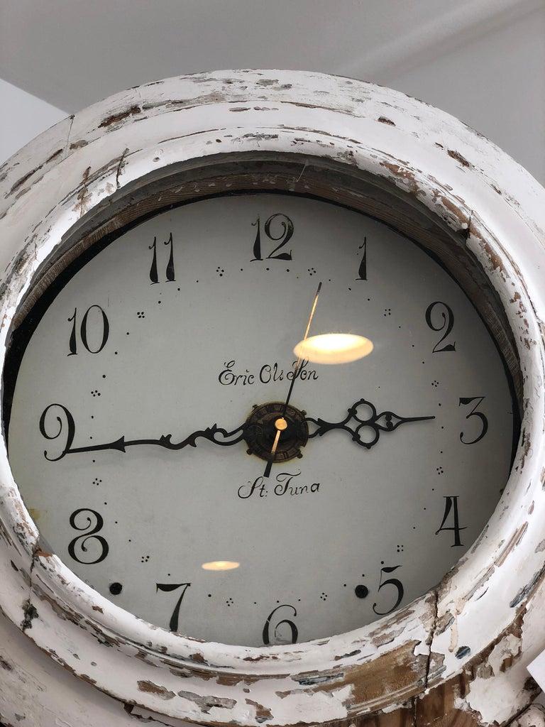 Gustavian Swedish Clock For Sale