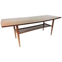 Swedish Mid Century Modern Teak Coffee Table By Alberts Of