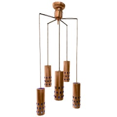 Swedish Copper Pendant Light Fixture