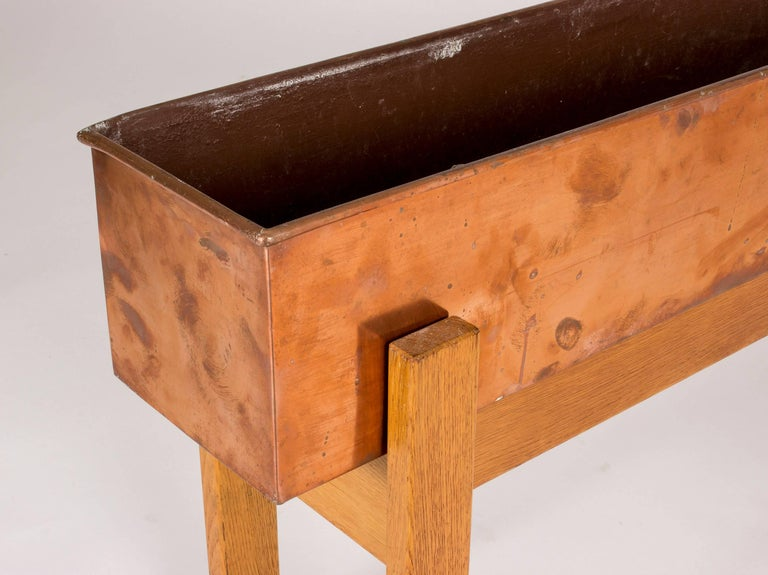 Swedish Copper Planter Box, 1960s For Sale 1