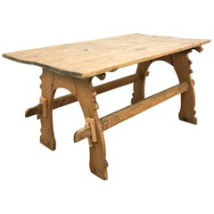 Swedish, Country Table, Occasional Table, Gustavian Furniture, 19th Century