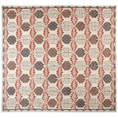 Doris Leslie Blau Collection Swedish Design Hazel Geometric Handwoven Wool Rug