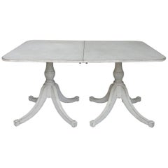 Swedish Dining Table in Two Parts